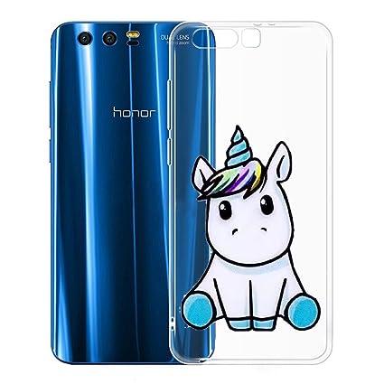 Funda para Huawei Honor 9 Carcasa , YIGA Moda Un unicornio ...