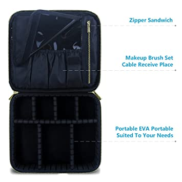 Cosmetic Makeup Bag Organizer Makeup Boxes With Compartments