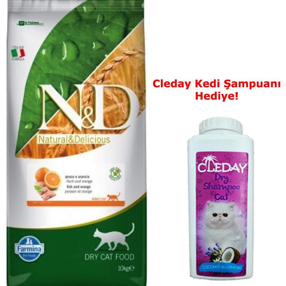 Farmina n&d grain free gatto pesce e arancia 10 KG: Amazon.es: Productos para mascotas