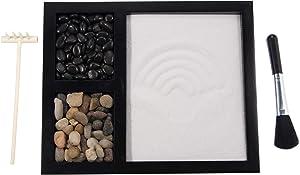 ZenChina Zen Sand Garden Kit Meditation Table Décor GR002
