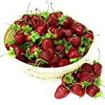 Gresorth-30pcs-Artificial-Lifelike-Simulation-Small-Dard-Red-Strawberry-Set-Decoration-Fake-Fruit-Home-House-Kitchen-Decor