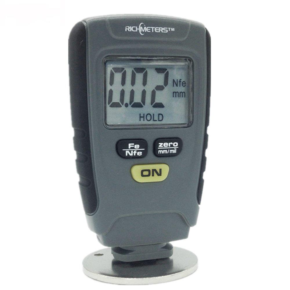 Grandey RM660 Digital Paint Coating Thickness Gauge LCD feeler gauge Tester Fe/NFe 0-1.25mm for Car Instrument Iron Aluminum Base Metal by Grandey (Image #7)