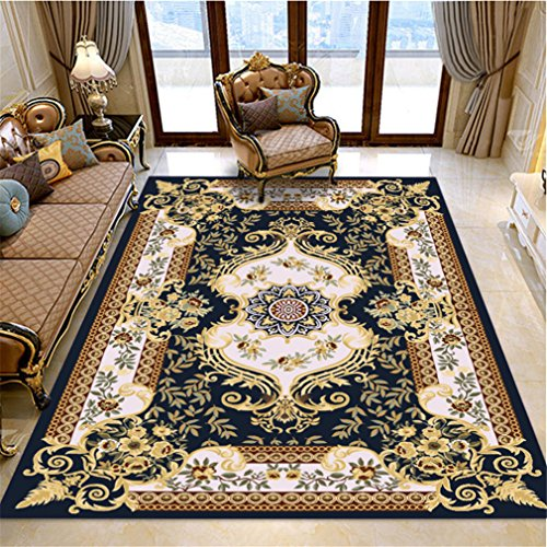 MIRUIKE Modern Abstract Ink Paint Area Rug Soft Carpet for Living Room Bedroom