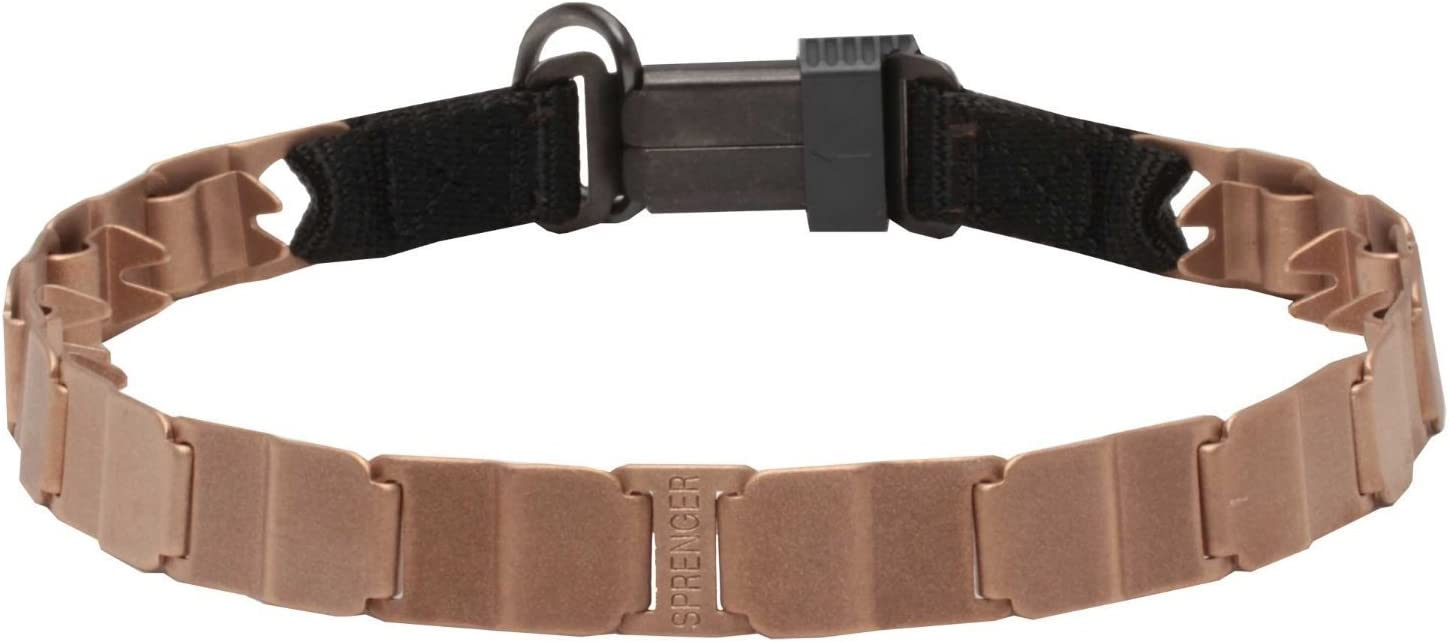Herm Sprenger NECH-TECH Curogan Prong Training Collar 19 w Buckle