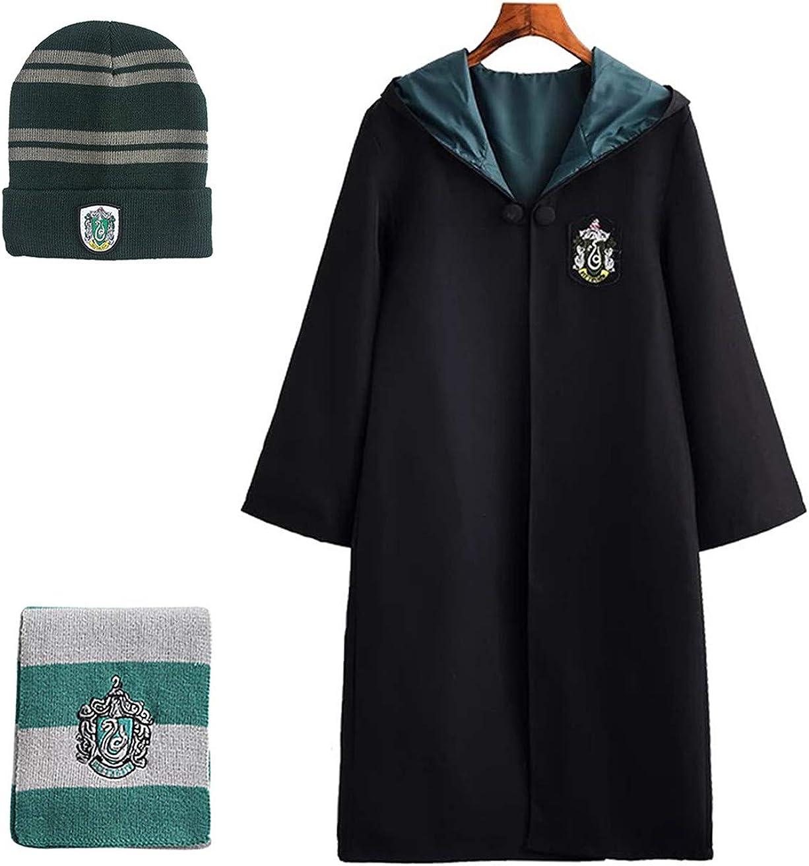 Chruikar Adulti Bambini Costumi Gryffindor Harry Potter Ravenclaw Hufflepuff Slytherin Mantello Travestimento Natale Regalo Carnevale Cosplay