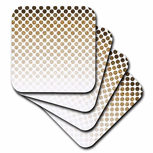 3dRose cst 192833 3 Glitter Ceramic Coasters