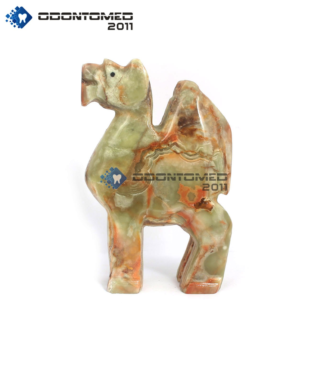 OdontoMed2011 Hand Curved Animal Shape Home Decorative Camel Style Onyx Marble