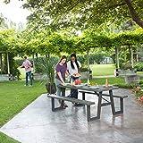 LIFETIME 60233 W-Frame Picnic Table