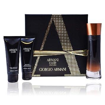fa0ae778df19 Armani Code Profumo 3 Pieces Gift Set 3.7 oz Eau De Parfum Spray   Code 2.5