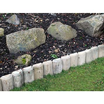 Kingfisher - LOG2 23 cm/22, 86 cm Log Roll para bordes de jardín ...