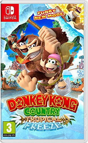 Donkey Kong Country  Tropical Freeze  Nintendo Switch  Uk Import