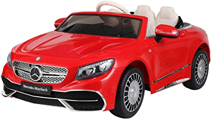 Red Licensed Mercedes Benz AMG GT4 12V Kids Ride On Car with Remote Control