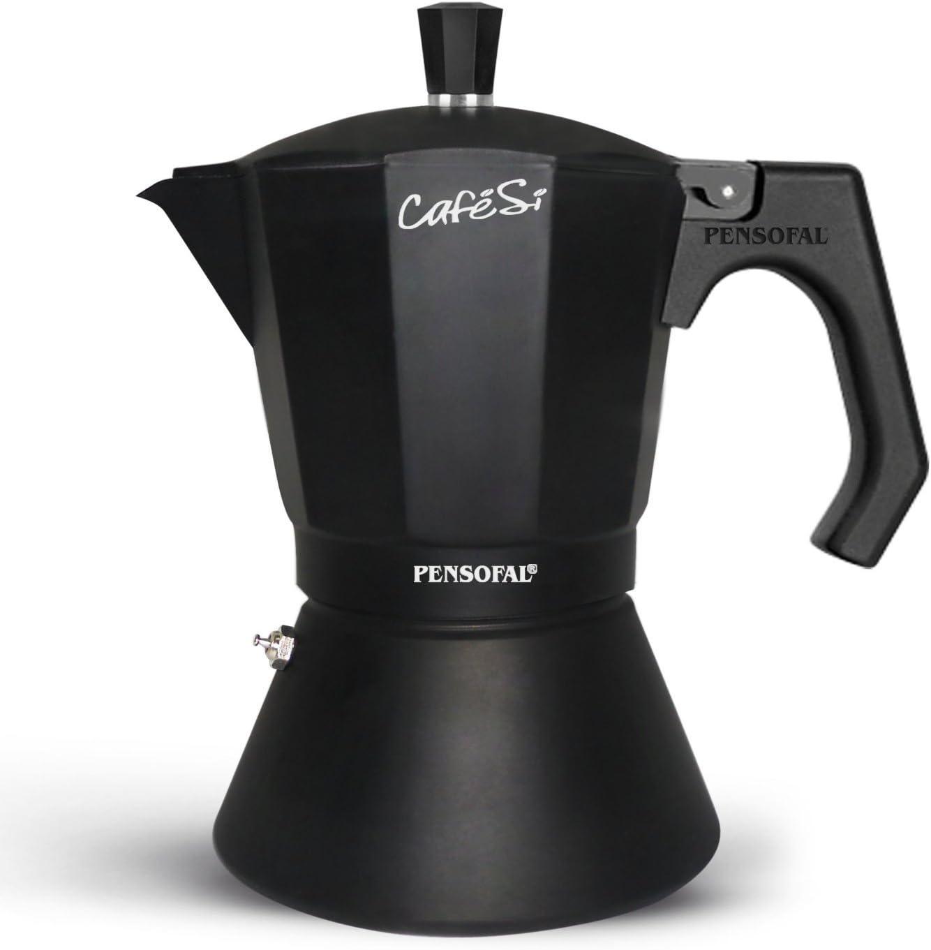 Pensofal Pen8406 Cafetera 6 Tazas, en Caja Regalo, Serie Cafesì ...