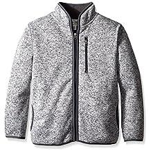 The Children's Place Big Boys' Sweater Fleece Jacket