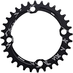 32T Huakii Single Speed Bicycle Chainring 38T Aluminium Alloy Chainring 34T