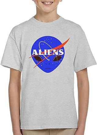 Cloud City 7 Aliens Space Program NASA Kid's T-Shirt