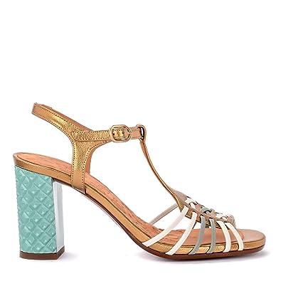 orologio efd8c 79565 Amazon.com: Chie Mihara Women's Sandalo Con Tacco Bandida in ...