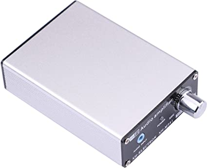 Yeeco 100W + 100W Doble Canal Audio Alta Fidelidad Amplificador Digital Potencia Audio Estéreo AMP Junta