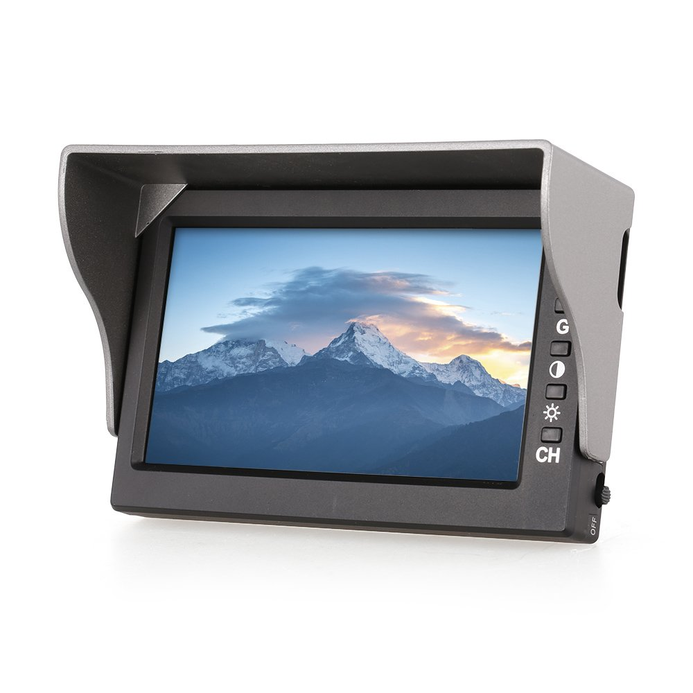 MJX D43 5.8G FPV Receiver Monitor 4.3 inch Display Screen for MJX Bugs 3 Bugs 6 Bugs 8 B3 B8 B6 5.8G FPV Drone Quadcopter by MJX