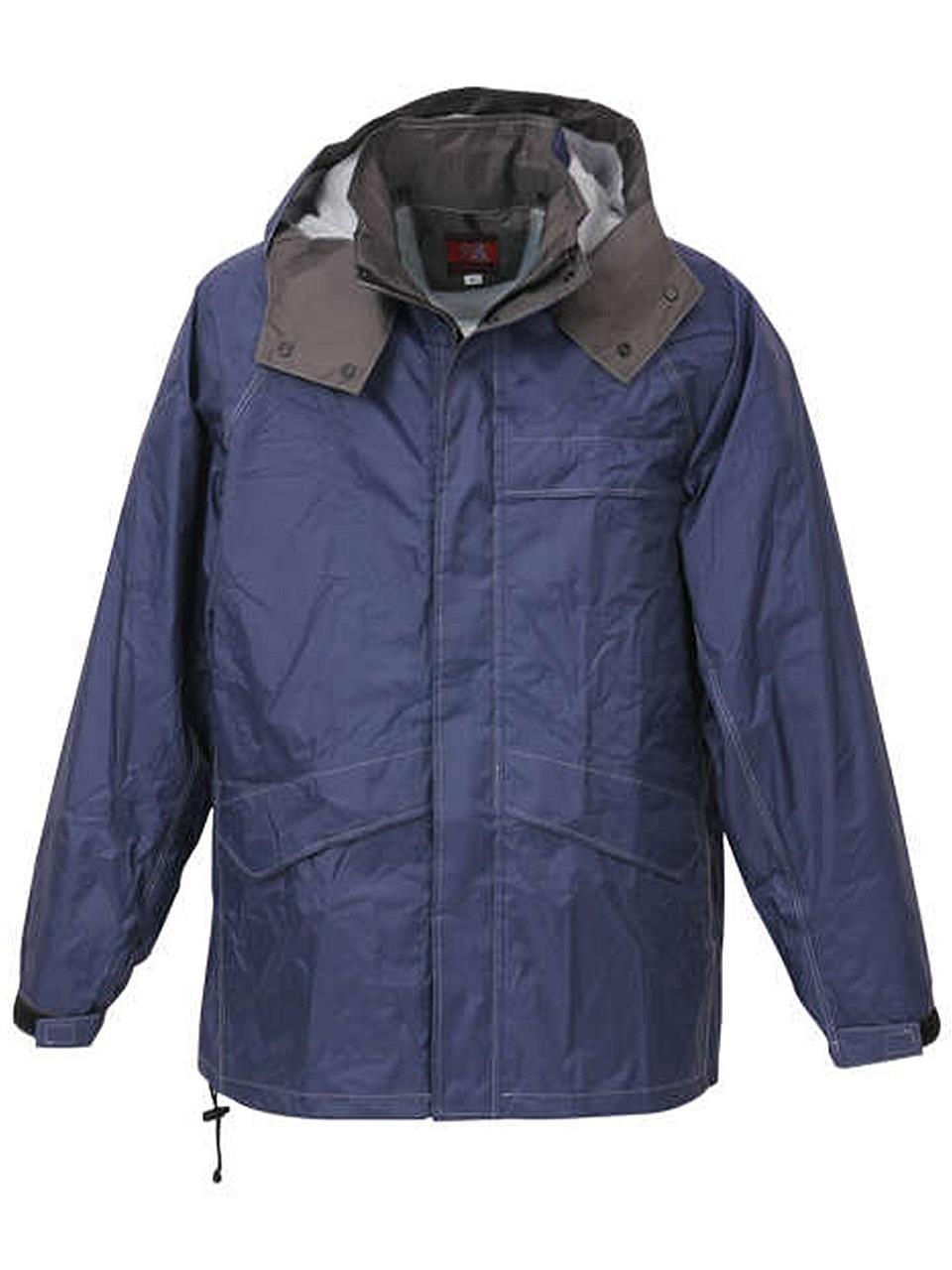 (ラグタイム セレクト) Ragtime Select 合羽 レインウエア レインジャケット 大きいサイズ メンズ 雨具 作業着 作業服 雨 C300419-01 B07CH38S46 4L|ネイビー ネイビー 4L