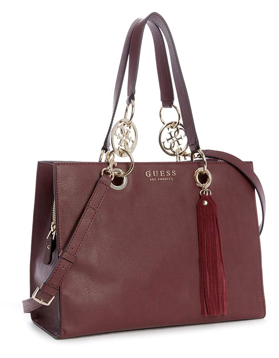 Guess burgundy bag ALANA GIRLFRIEND (One Size Mauve