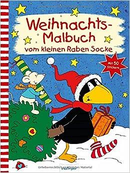 Der Kleine Rabe Socke Weihnachts Malbuch Vom Kleinen Raben Socke