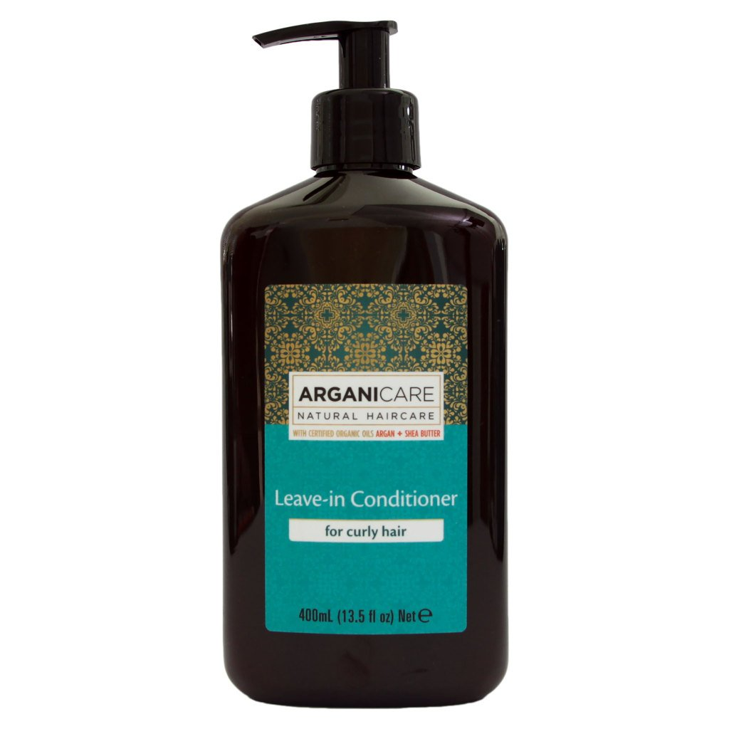 Arganicare Leave in Conditioner for Curly Hair Enriched with Organic Argan Oil and Shea Butter (13.5 Fluid Ounce)