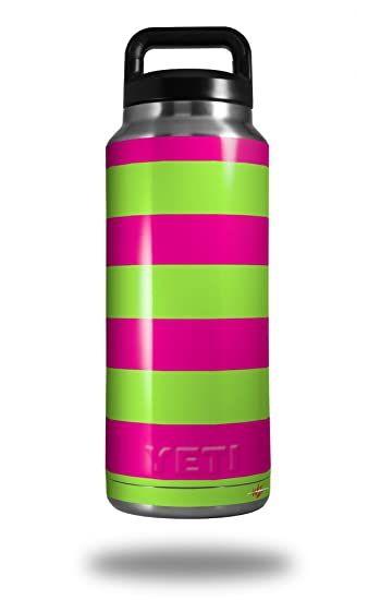 d24c749639d Amazon.com: Psycho Stripes Neon Green and Hot Pink - Decal Style ...