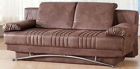 Magnificent Amazon Com Fantasy Sofa Sleeper In Chocolate Home Kitchen Spiritservingveterans Wood Chair Design Ideas Spiritservingveteransorg