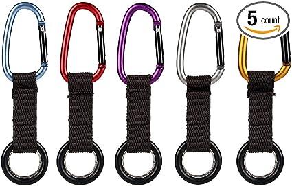 Water Bottle Holder Hook Belt Clip Carabiner Hiking Camping Hook Key Chain HOT