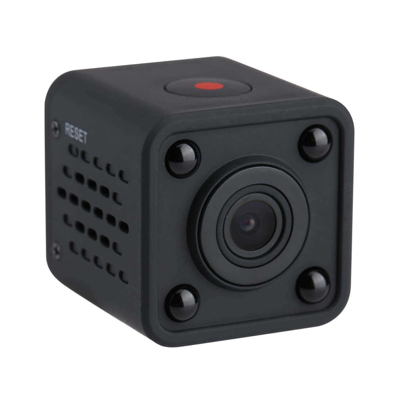 Mini Camera Cámaras Espía - CUSFLYX Cámara de vigilancia Wi-Fi, HD, detección de Movimiento, visión Nocturna, 1080P, 720P, 640P, 320P, Nanny Security, ...