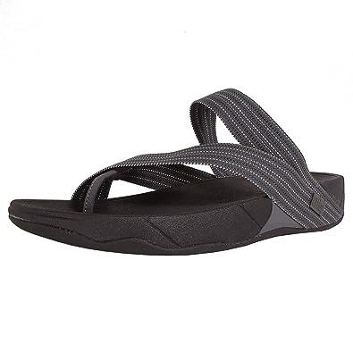 0a24f1e20fd7da Fitflop Mens Sling Weave Stitched Sport Sandal Shoes Grey Size  11 ...