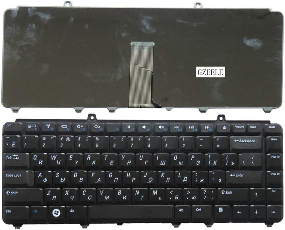 Russian Laptop Keyboard for Dell inspiron 1400 1520 1521 1525 1526 1540 1545 1420 1500 XPS M1330 M1530 NK750 PP29L M1550