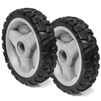 Amazon.com: Husqvarna 2PK genuino OEM cortacésped ruedas ...