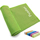 Pusdon Soft Instant Cooling Towels, Healthy Cool Cloth, Fitness Sports...