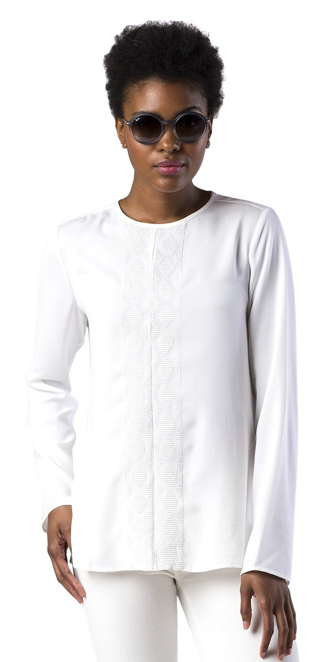 Mott50 Womens Gwyneth Shirt White Small Mott 50 T1713