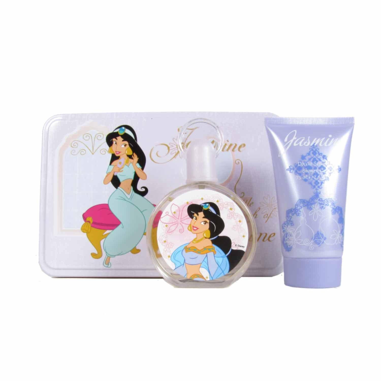 Disney Jasmine Gift Set 50ml EDT + 75ml S/Gel + Tin