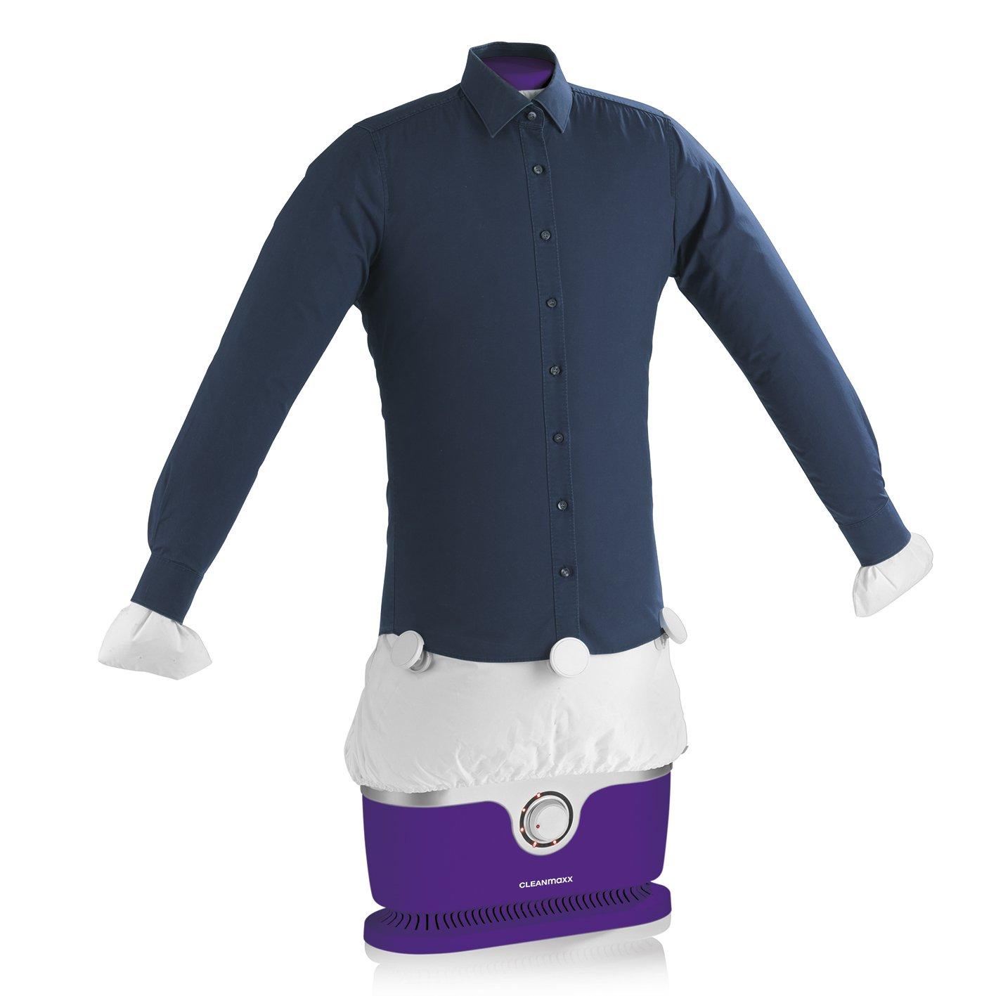 Máquina de planchado automático para camisas y blusas (seca y plancha la ropa automáticamente en un solo paso) morado: Amazon.es: Hogar