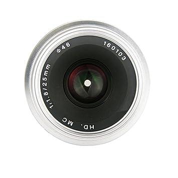 Yunchenghe 25mm F/1.8 de la cámara lente macro, el objetivo de ...