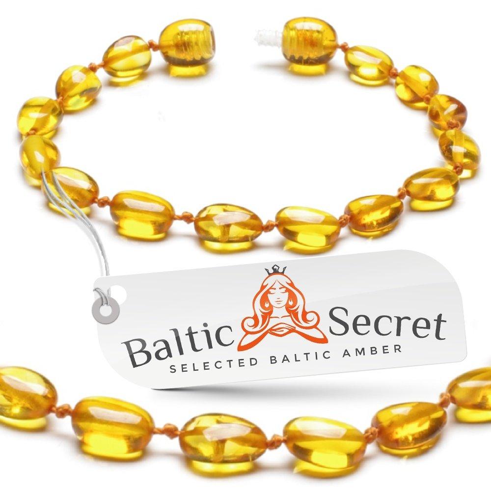 【希望者のみラッピング無料】 Premium Amber Teething Bracelet Anklet Naturally/ Reduces Extra Value Safe/ 50% Richer and Higher in Value/ Sizes from 4.5 IN to 8 IN/ Reduces Teething Symptoms Naturally/HNY.P-BN/ 13.5CM/ 5.3IN by Baltic Secret B01BU3P9KQ, amisoft DLストア:42c5cb32 --- a0267596.xsph.ru