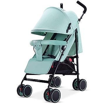 carrito de bebé- El carro plegable ultra liviano para niños puede sentarse y acostarse coche