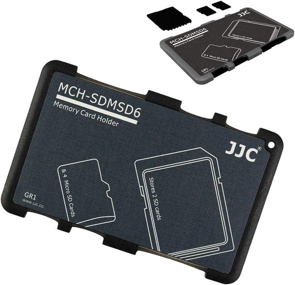 JJC - Funda para Tarjetas Micro SD (10 Unidades, Ligera, Delgada): Amazon.es: Electrónica