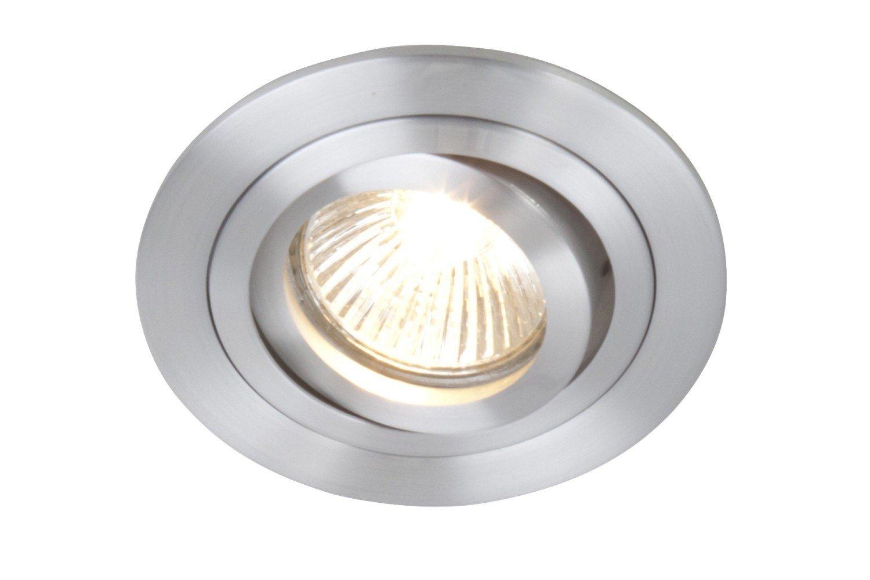 Moderner Einbaustrahler (Höhe 2cm) Innenlampe Halbeinbaustrahler ...