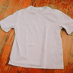 Amazon レディース ゆったり Tシャツ 半袖 Ins風 Uネック 無地 クルーネック インナー カジュアル シャツ カラーtシャツ 綿 トップス 夏服 橙红 Xl Tシャツ カットソー 通販