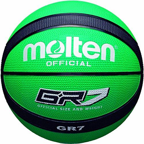 Molten BGR7-GK - Basketball, grün / schwarz, Größe 7