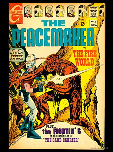 Peacemaker #5 VF+ 8.5 Tongie Farm Collection Pedigree