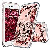 iPhone 6s Plus Case, Cool iPhone 6 Plus Case, MOSNOVO Floral Skull Flower ...