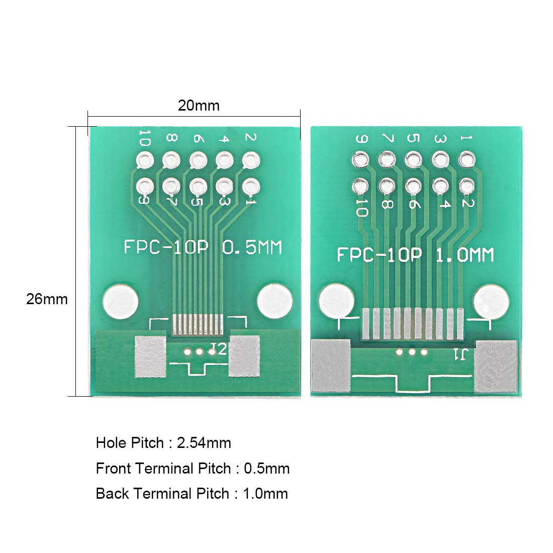 Amazon.com: uxcell USB Female Type-B Jack 4-Pin 90 Degree PCB DIP ...