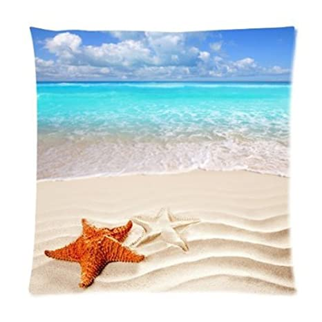 Amazon.com: Paraíso Tropical Playa con estrella de mar de ...