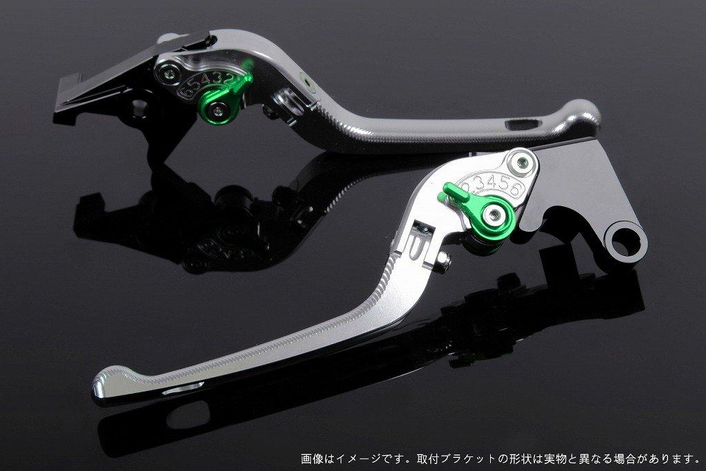 SSK アジャストレバー 3D可倒式 レバー本体カラー:シルバー アジャスターカラー:グリーン KA0405045-GN B00URB8TZK アジャスター:グリーン 3D可倒式